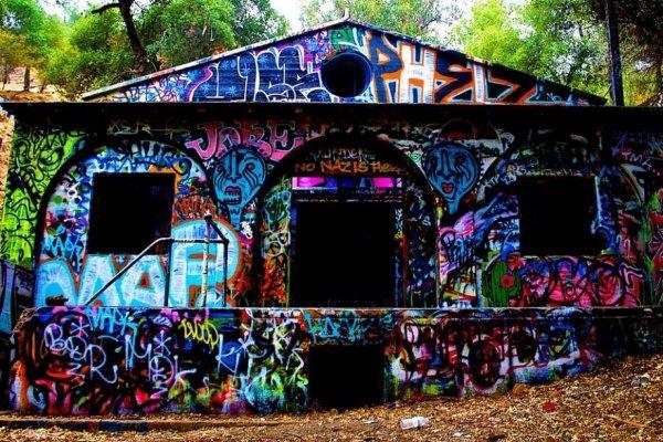 Abandoned Nazi Compound