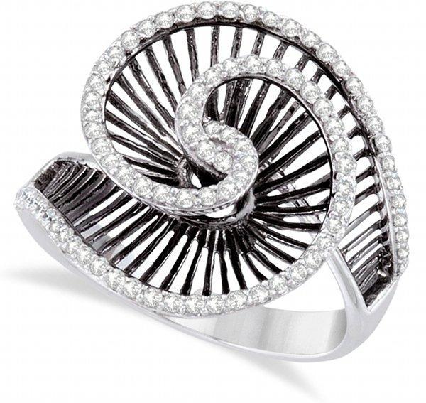 Swirl Cocktail Ring