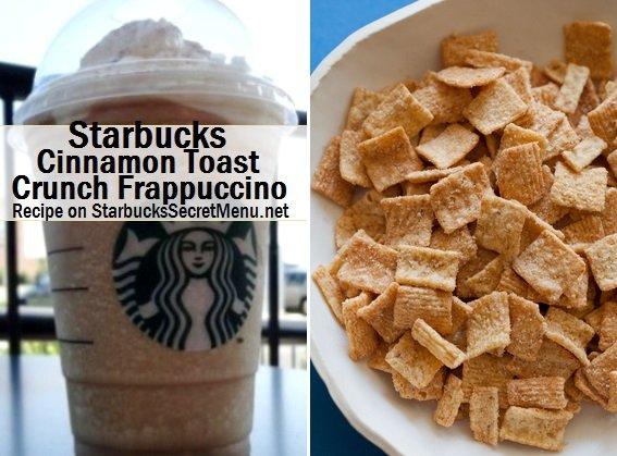 Cinnamon Crunch Frappuccino
