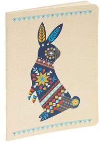 Pennsylvania Dutch Rabbit Notebook