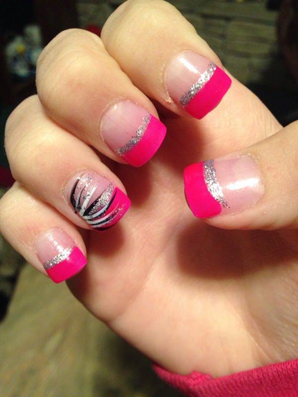 nail, color, finger, pink, nail care,