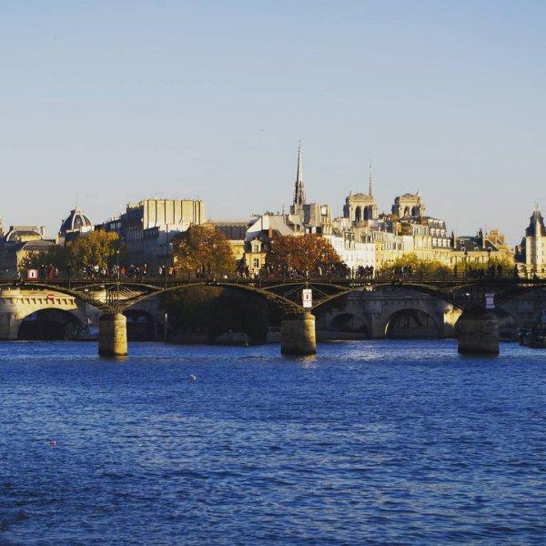 waterway, sky, bridge, river, water,