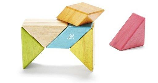 Tints Pocket Pouch Prism, 6 Pieces W/ Felt Pouch