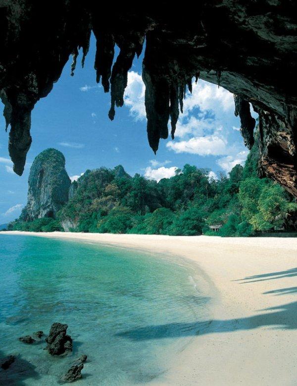 Phra Nang Beach, Ao Nang, Thailand