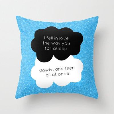 TFiOS Quote Throw Pillow