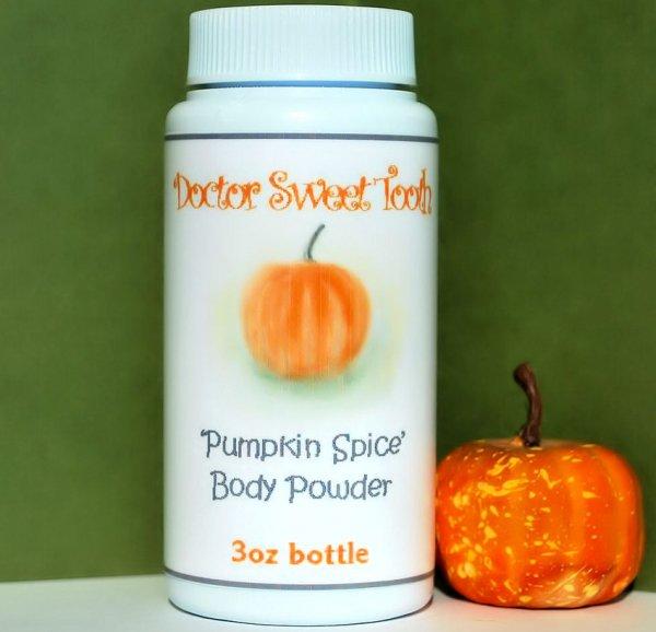 Dr. Sweet Tooth's Pumpkin Spice Body Powder