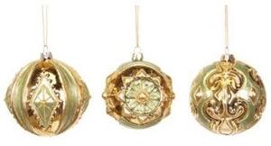 12 Piece Set of Brass Ornaments