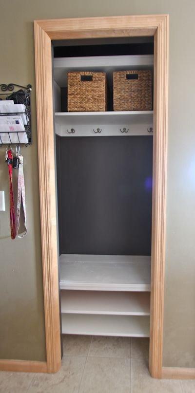 Entry Closet Remodel