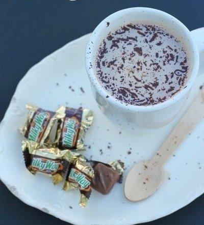 Milky Way Hot Chocolate