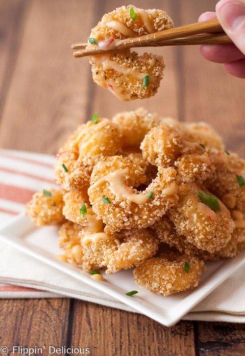 Gluten Free Bang Bang Shrimp
