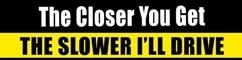Driving Closer Warning