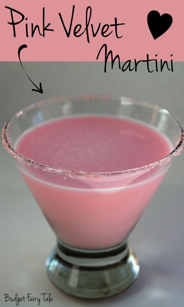 Pink Velvet Martini
