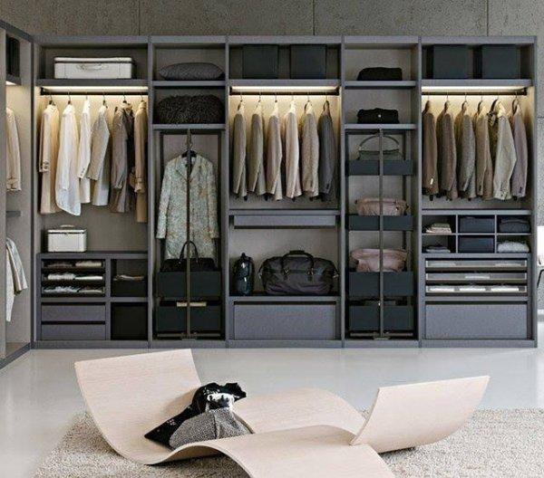 Big Contemporary Closet