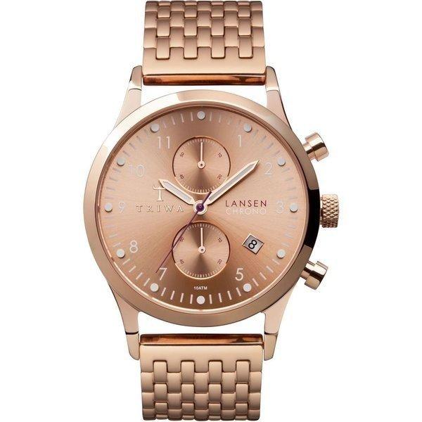 TRIWA Watch, Lansen Chrono, Rose