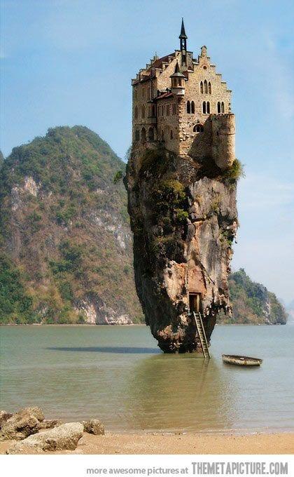 Castle on a Rock, Ireland