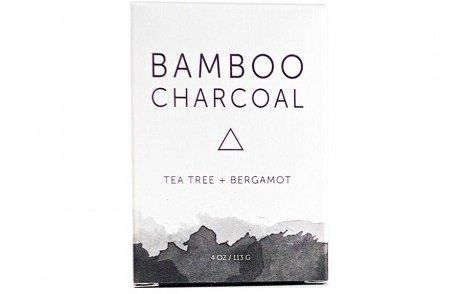 Herbivore Botanicals Bamboo Charcoal Soap Bar