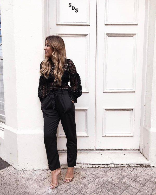 clothing, black, sleeve, outerwear, denim,