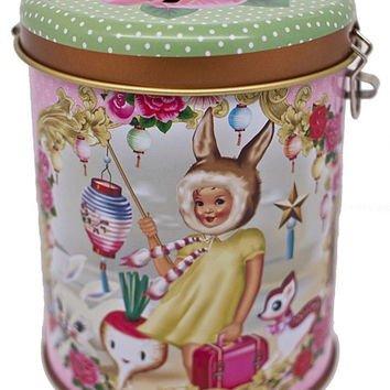 WU and WU 'Bunny Ears' Money Tin Box