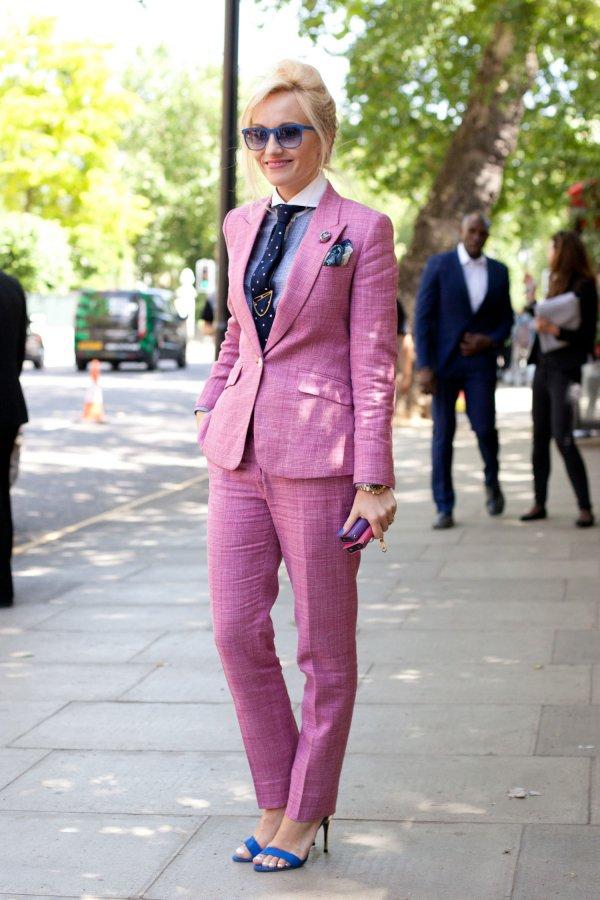 A Classic Pantsuit