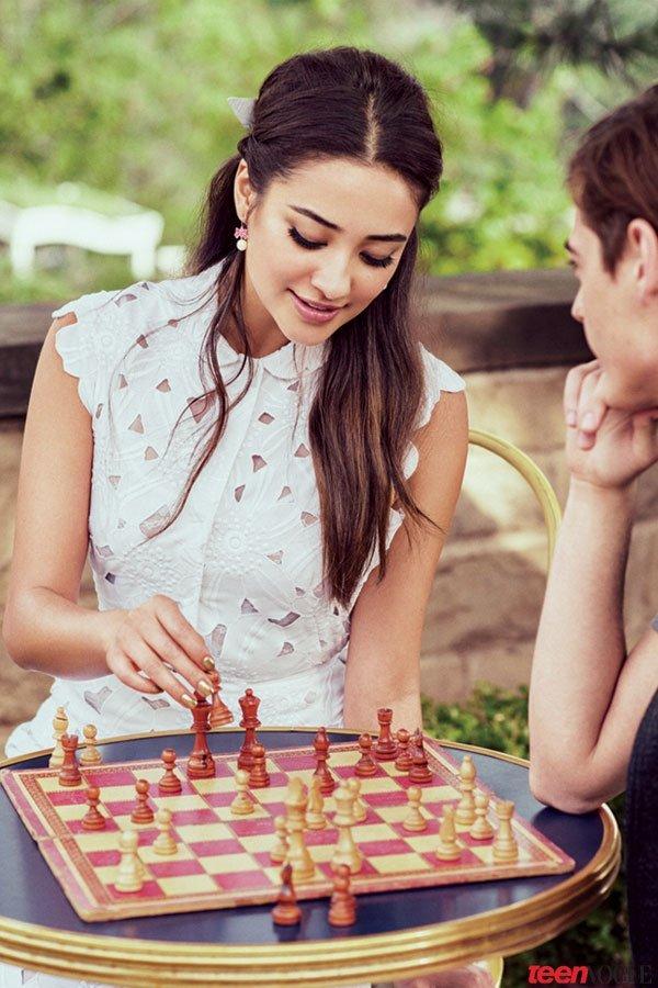 Shay Mitchell & Michaela Blaney