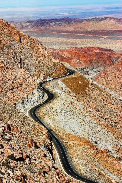 La Rumorosa Highway, Baja California, Mexico