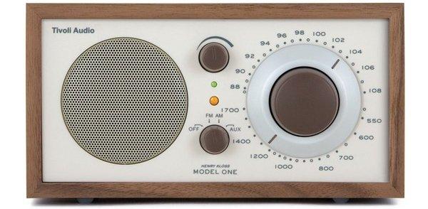 Audio Model One AM / FM Table Radio, Classic / Walnut