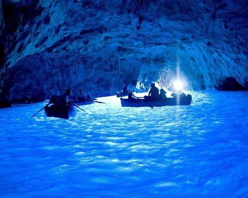 The Blue Grotto (Capri, Italy)