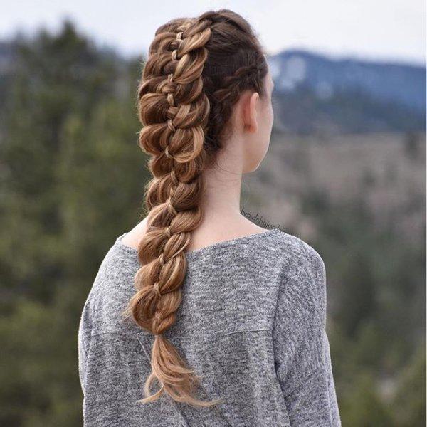 hair, clothing, hairstyle, braid, long hair,