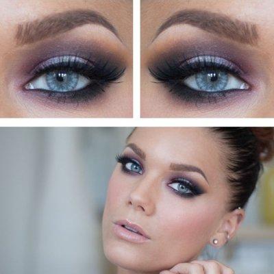 7 Make Up Tricks Um Ihre Blauen Augen Pop