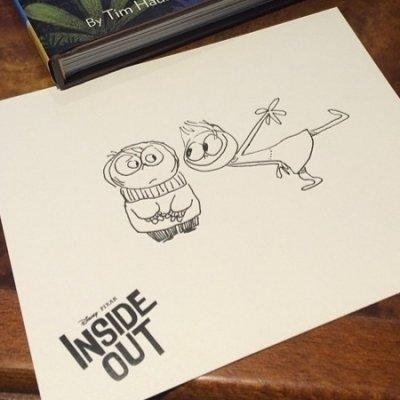 "Finally! Teaser Trailer for Disney Pixar's ""inside out"" ..."