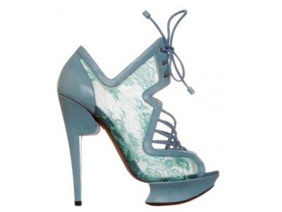 4 Glamorous Pastel Nicholas Kirkwood Platform Shoes ...