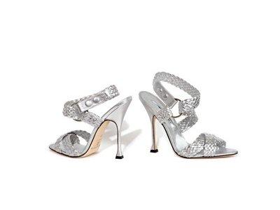 16 Beautiful Metallic Brian Atwood Sandals ...
