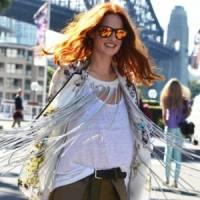 7 Street Style Ways to Rock the Kimono Style Cardigan ...