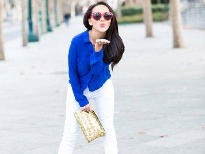 7 Street Style Ways to Rock White Pants This Spring ...