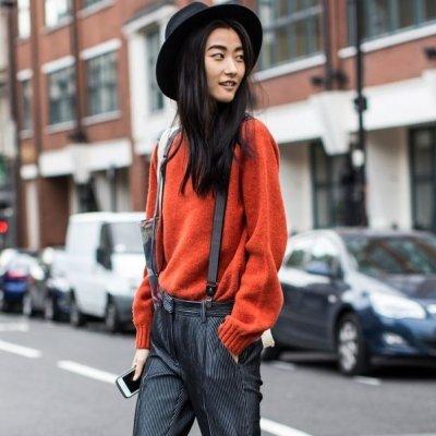 7 Street Style Ways to Wear Suspenders ...