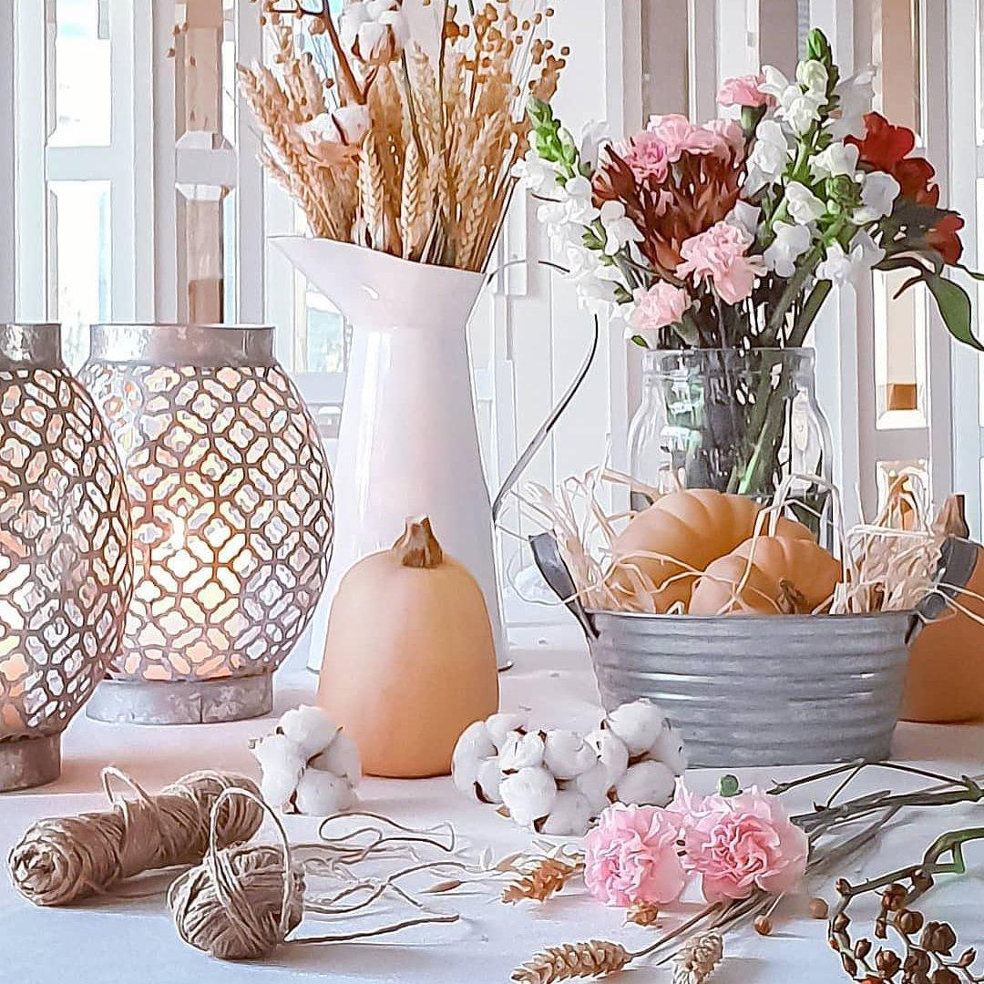 7 decorações simples de ação de Graças 🍂 para seu apartamento 🏠...