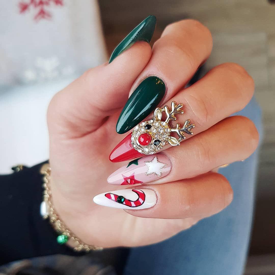 Nail Art 💅🏼 Tutorials for the Festive Season 🎄☃️ ...