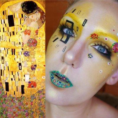 Watch a Makeup Artist Turn Herself into a Real Work of Art ...