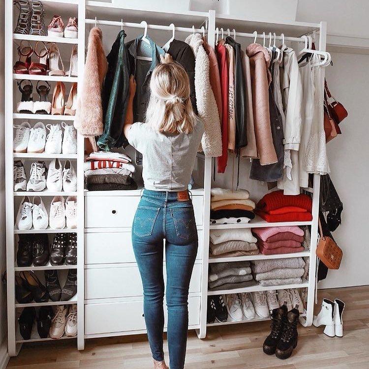 Organizing a Small Closet on a Budget ...