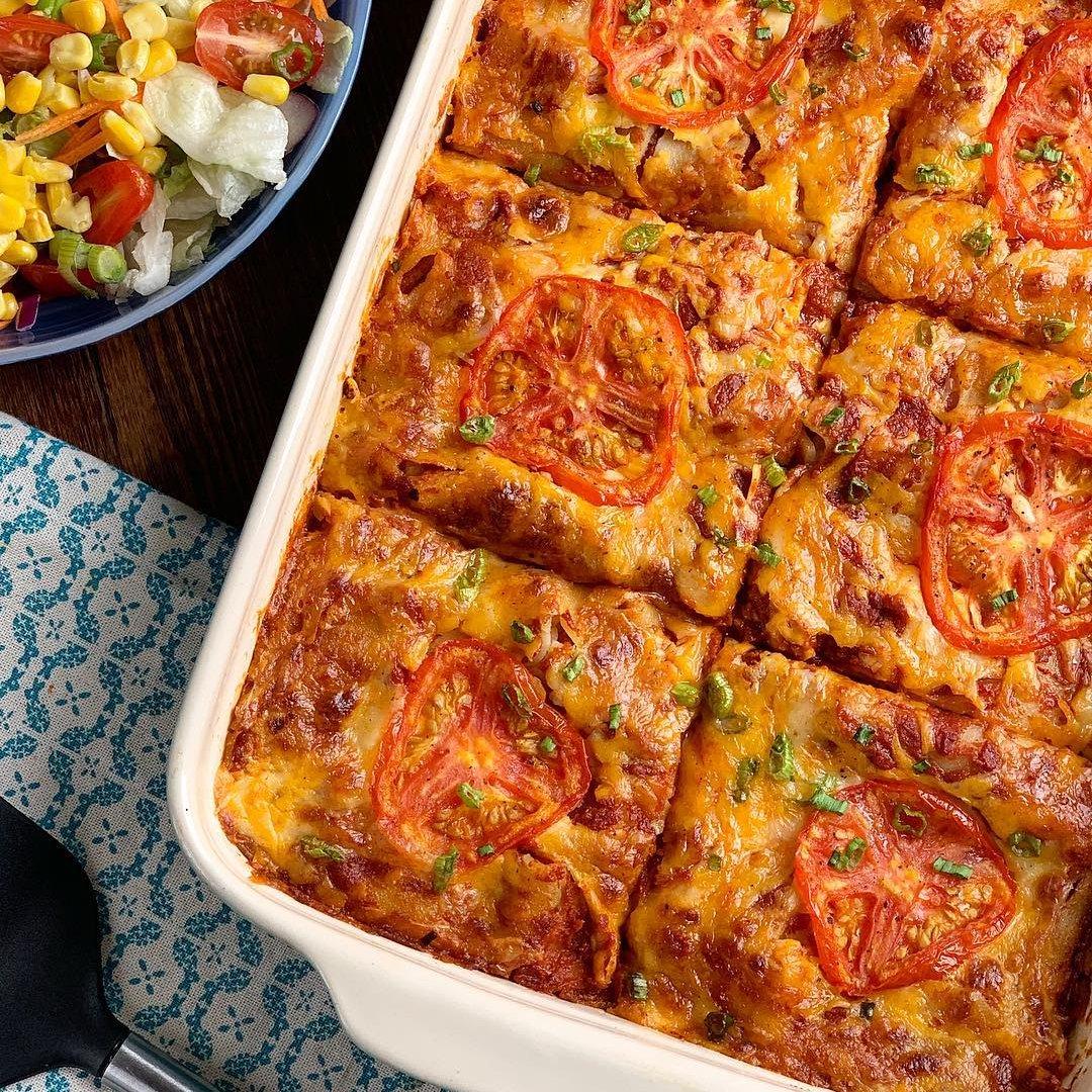 Microwave Mexican Lasagna ...