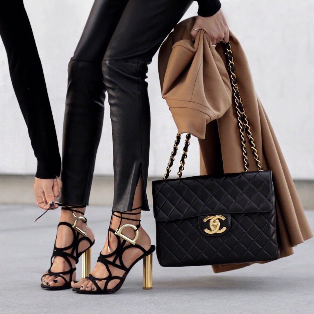 4 Fabulous Black Edmundo Castillo High Heels ...