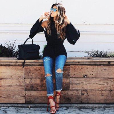Geliebte Coole 😎 Outfits zu versuchen, 👚👖 für Frauen, die haben nichts @YF_19
