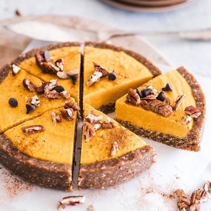 How to Make 📖 No Bake 🚫 Pumpkin 🎃 Cheesecake 🤤 ...