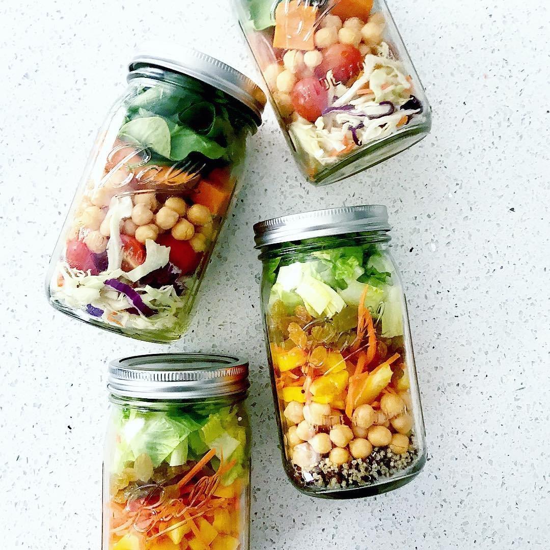 Taco 🌮 Salad 🥗 in a Jar 🤗 ...