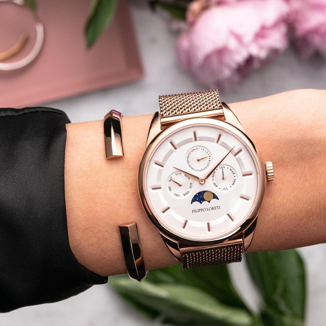 Stylish Ladies Quartz Watch from Filippo Loreti is All You Need