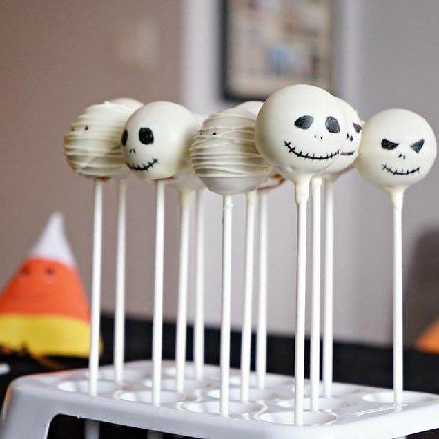 9 Halloween 🎃 Cake Pops 🍡 trop 💯 ☺️ Adorable à poignée...