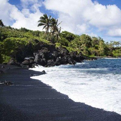 7 Spectacular Black Sand Beaches around the World ...