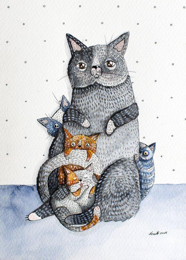 All the Kitties!